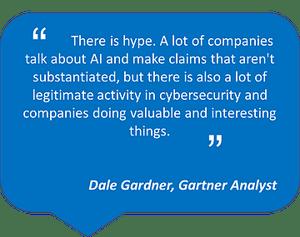 Gartner quote on AI hype